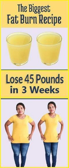 Astonishing Fat Burn Recipe for Lose Weight 45 Pounds in 3 Weeks – Health Info