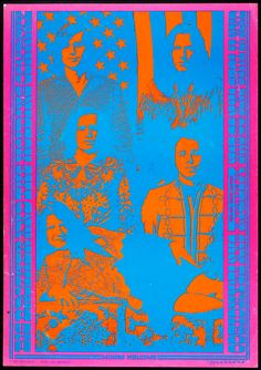 Fading Reality Big Brother and the Holding Company January 1967 @ Matrix - San Francisco © 1967 Neon Rose by Victor Moscoso Psychedelic Rock, Psychedelic Typography, Psychedelic Posters, Saul Bass, Rock Posters, Concert Posters, Graphic Design Posters, Graphic Art, Victor Moscoso