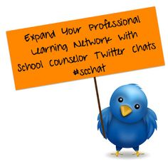 Expand Your Professional Learning Network with School Counselor Twitter Chats #scchat Elementary School Counselor, School Counseling, Elementary Schools, Professional Learning Communities, Small Groups, Education, Twitter, Blog, Collaboration