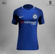 Unique Nike Chelsea 17-18 Concept Kits Revealed - Footy Headlines Camiseta  Chelsea 6afbb9854b5eb