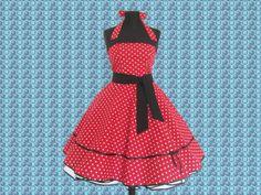 """""""Amelia"""" 50er Jahre Kleid  Rockabella Gepunktet! von 50er Jahre Kleider/Petticoats auf DaWanda.com"""