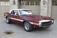 1969 Ford Mustang Shelby American muscle cars are a staple of the automobile marketplace Ford Mustang Shelby Gt500, Shelby Car, Mustang Cars, Ford Gt500, 1967 Mustang, Best Muscle Cars, American Muscle Cars, Ford Capri Rs, Motos Vintage