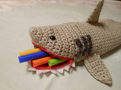 Things That Bite….10 Sharky Knit or Crochet Designs