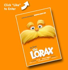Enter to win a The Lorax Prize Pack, featuring a Fandango Gift Card and exclusive goodies from the movie!