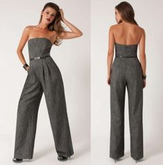 American Rag Jumpsuit, Strapless Animal Print Sheer Cropped ...