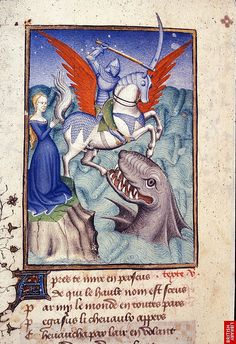 Perseus-Adromeda-monster. France 1410. By tony harrison on flickr