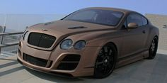 Prior Bentley GT Speed with full Prior Aerodynamic kit and a fabulous matte brown paint job by Roadstarr. Full audio aupgra... #funrides