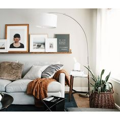 A living room is the central point of your home that needs a nice design.with these wall decor ideas for your living room, enhance the mood of your home. Cozy Living Rooms, Living Room Interior, Home Interior, Home Living Room, Apartment Living, Living Room Designs, Living Room Decor, Living Spaces, Interior Design