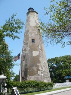 """Bald Head Island Lighthouse """"Old Baldy"""", NC"""