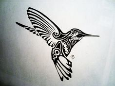 (^_^) Tattoo Humming Bird by Scubacat17 on DeviantArt