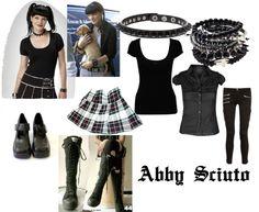 """""""Abby Sciuto Inspired Outfit"""" - add a lab coat & I'm all set for Halloween. Cute Emo Outfits, Sexy Outfits, Trendy Outfits, Abby Sciuto, Killstar Clothing, Fandom Outfits, Gothic Outfits, Cosplay Outfits, Character Outfits"""