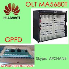#HUAWEI GPON OLT in promotions# ^_ ^_^ MA5680T with 16 ports GPON card, #2100USD MA5683T with 16 ports GPON card, #2130USD MA5608T with 16 ports GPON card, #2450USD Welcome to contact us and enjoy our promotions.  @Skype: APCHAN9