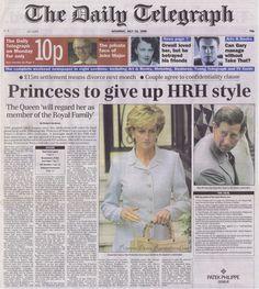 No longer HRH, but still a princess.