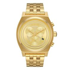 Men  Watches - Nixon Mens Time Teller Chrono SW C3PO Gold A972SW2378 Gold StainlessSteel Quartz Watch * Details can be found by clicking on the image. (This is an Amazon affiliate link)