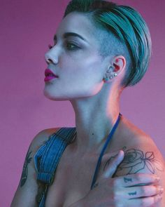It's been a good week for new music including the release of #Halsey's #NowOrNever the lead single from her upcoming sophomore album. Tap the link in our bio for our roundup of the best tracks of the week. @iamhalsey photographed by @spencerkohn for Vmagazine.com in 2015.  via V MAGAZINE OFFICIAL INSTAGRAM - Celebrity  Fashion  Haute Couture  Advertising  Culture  Beauty  Editorial Photography  Magazine Covers  Supermodels  Runway Models