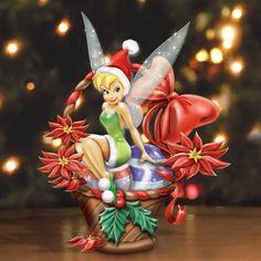 Disney We Wish You A Fairy Christmas Basket at Ocean Treasures