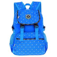 BAIJIAWEI 2017 New Kids Backpack Primary School Bags for Children Multi-pocket Big Capacity Waterproof Backpacks mochila chico