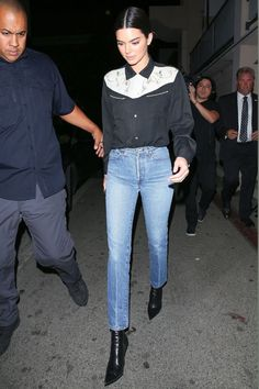 Kendall Jenner is making a strong case for Western-inspired trends. See her look here.