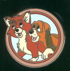 Best Friends Mystery Pack Todd and Copper Fox and the Hound Disney Pin 90186  | eBay