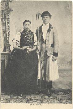 Eger népviselet 1905