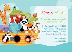 noah's ark theme birthday party - Buscar con Google