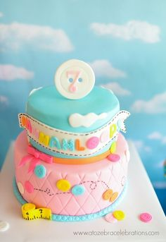 Gorgeous Lalaloopsy girl Birthday Party cake! See more party ideas at CatchMyParty.com!