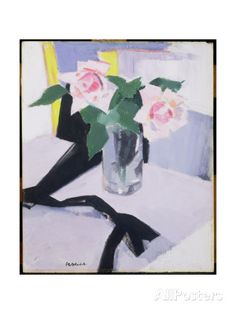 Roses at Cassis, 1921 Giclee Print by Francis Campbell Boileau Cadell - AllPosters.co.uk