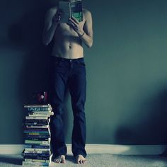 Guys who read is attractive to me...Love it