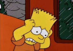 The Simpsons Gifs Cartoon Wallpaper, Simpson Wallpaper Iphone, Sad Wallpaper, Simpsons Meme, The Simpsons Tumblr, Cartoon Icons, Cartoon Memes, Cartoons, Cartoon Art