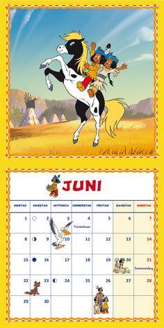 Yakari 2015 | Dumont Kalenderverlag: Kalender