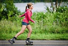 Kudy z nudy - Na bruslích z Prahy do Zámků podél Vltavy Fitness, Running, Workout, Shape, Heart Rate, Cardio Workouts, Figure Skating, Exercise Workouts, Stretches