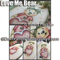 Love Me Bear ePattern - Isabella Pasquato - PDF DOWNLOAD
