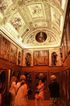 Estudio de Francisco I en los itinerarios secretos del Palazzo Vecchio de Florencia