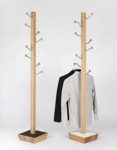 mot hanger by jongho park - A coat rack doesn't have to be immaculately sculpted to perform its function; in fact, the MOT Hanger by Jongho Park ultimately succeeds becau...