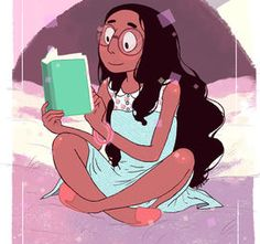 I got Pearl, but I just liked this piece of artwork. Don't mind the quiz showing a result if anyone got Connie.