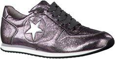 Zilveren KS sneakers 16120 Me Too Shoes, Sneakers, Tennis, Slippers, Sneaker, Shoes Sneakers, Women's Sneakers