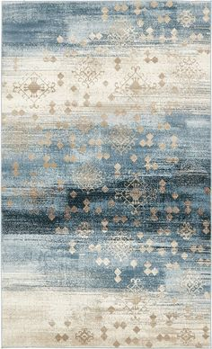 A2Z Rug Modern Abstract Dark Blue 5 x 8 Monaco Collection Area rug  rugs for living room  rugs for dining room and bedroom  Floor Carpet >>> Read more at the image link. (This is an affiliate link) #homedecor
