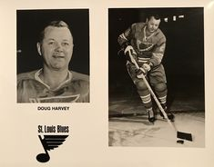 Doug Harvey was a veteran when he played his final NHL season. In the twilight of his career, he was the most consummate defender. Blues Nhl, Nhl Season, Hockey World, Pro Hockey, New March, League News, Nhl News, National Hockey League, The St