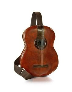 Pratesi Guitar Backpack w/MP3 Speaker Connection Brown  Price:	$374.95