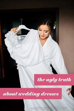 The ugly truth about wedding dresses - weddingfor1000.com