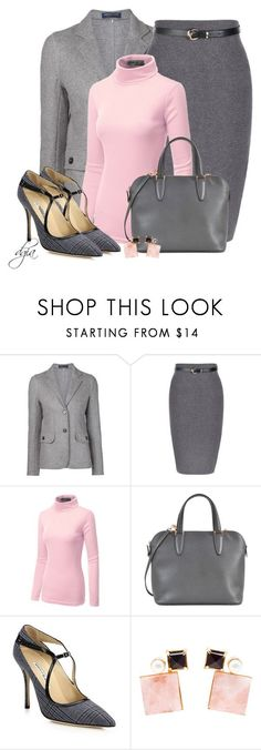"""Mary Jane Pumps"" by dgia ❤ liked on Polyvore featuring мода, Capobianco, Doublju, Valextra, Manolo Blahnik и Volha"