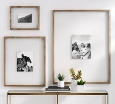 Unique Ways To Display Your Photos In Your Home :: Southeast Nebraska Family Photographer - dirtroadphotography.com Cadre Photo Diy, Deco House, Cute Picture Frames, Floating Picture Frames, Floating Frame, Picture Walls, Photo Frame Ideas, Picture Frame Decor, Frame Wall Decor