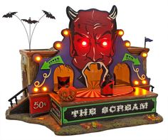 The Scream Animated Ride