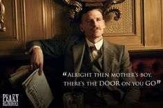 Peaky Blinders continues to gently unfold as Tommy Shelby presses ahead with his London expansion plans. But this week sees the hotly anticipated arrival of Dark Knight Rises star Tom Hardy as the Brummy gangster's would-be brother-in-arms Alfie Solomons. Peaky Blinders Characters, Peaky Blinders Series, Paul Anderson Peaky Blinders, Birmingham, Steven Knight, Red Right Hand, Cute Actors, Cillian Murphy, Hollywood Actor