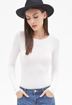 Ribbed Knit Top | Forever 21 - 2000136971