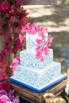 Spanish Traditional at Rancho Pavo Real   The Perfect Palette Spanish Style Weddings, Avocado Ranch, Traditional Wedding, Eat Cake, Wedding Colors, Wedding Cakes, Wedding Day, The Incredibles, Palette