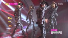 100% - BEAT, 백퍼센트 - 심장이 뛴다, Music Core 20140405