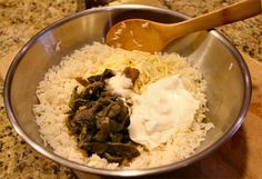 Poblano Rice - Everything in the Bowl