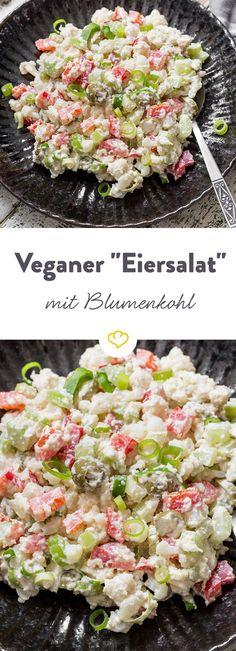 Aus weichgekochtem Blumenkohl, knackigem Gemüse und feiner Cashew-Mayonnaise lässt sich der weltbeste vegane