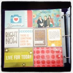 Project life style layout using Honey Edition Core Kit by Mandy Reedyk